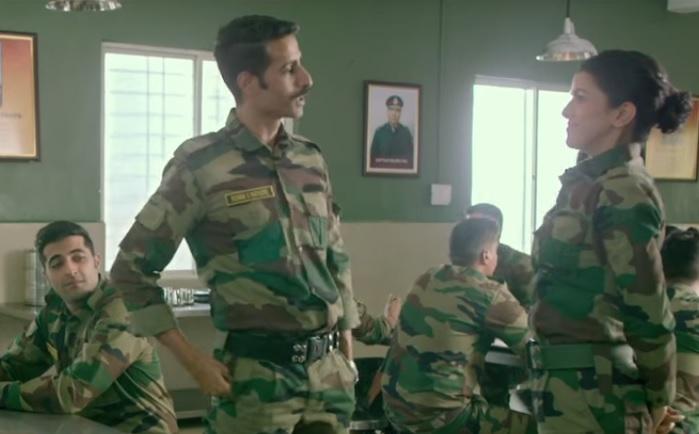 Bhuvan Arora and Nimrat Kaur in a still from The Test Case. (Courtesy: YouTube/ALTBalaji)