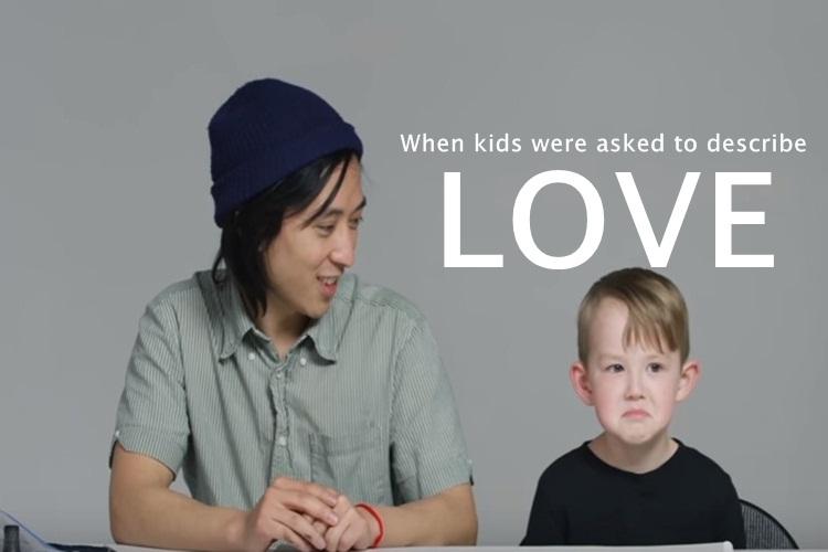 Koji Minami, koji minami illustrator, koji minami asks kids to describe love, kids describe love, love, kids on the idea of love, koji minami local motion