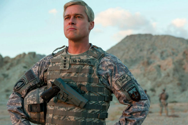 Brad Pitt, Netflix, War Machine
