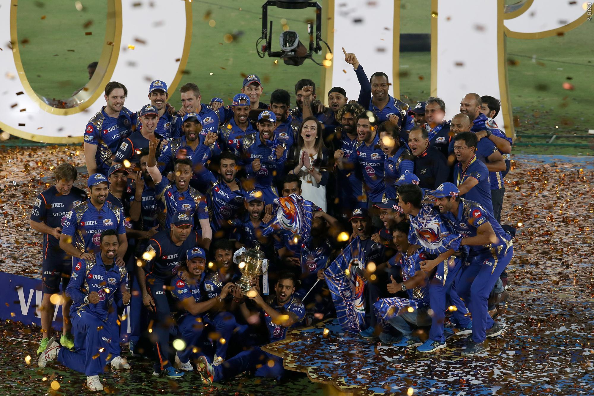 Mumbai Indians win IPL 2017