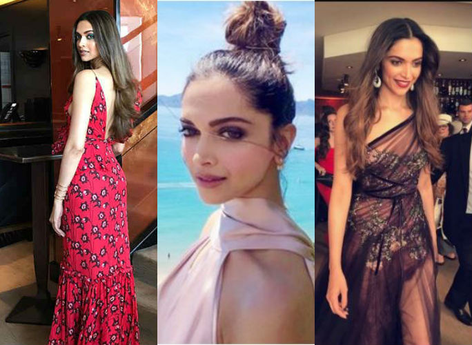 Deepika Padukone at the Cannes Film Festival 2017. (Photo: Twitter/L' Oreal)