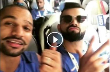 Virat Kohli, Shikhar Dhawan, ICC Champions Trophy 2017, Team India, Practice session