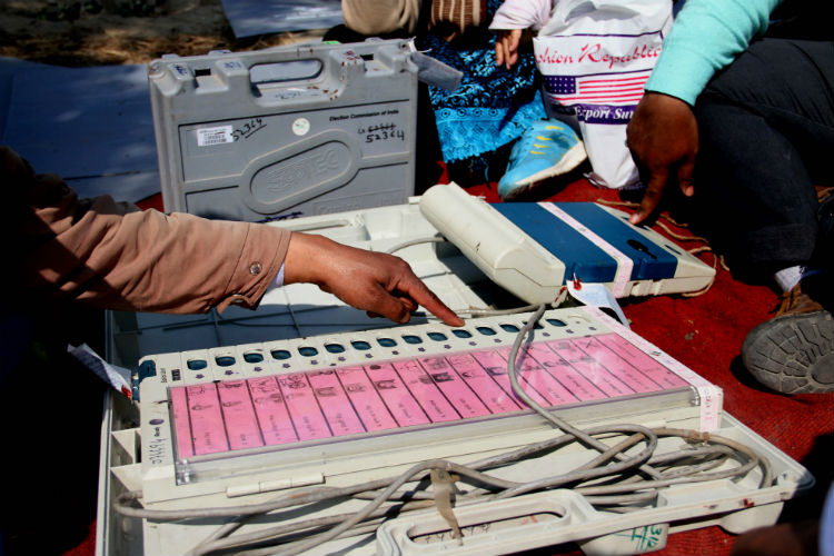 EVM tampering, Election commission