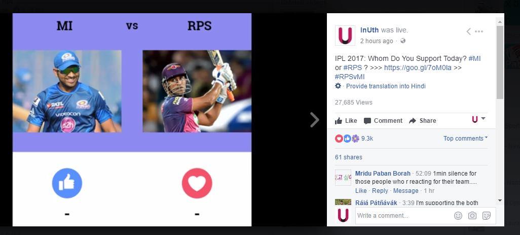 MI vs RPS Live FB Poll