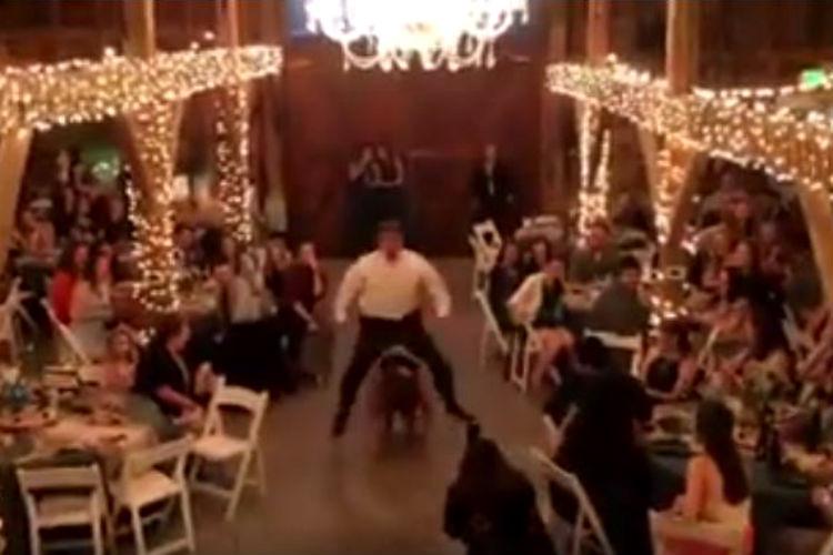 Friends, Ross, Monica, Routine Dance