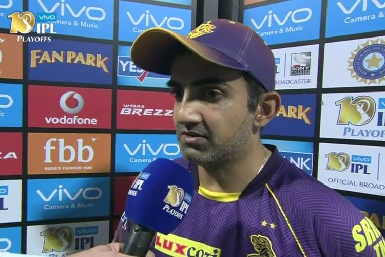 Gautam Gambhir, KKR vs MI, MI vs KKR, IPL 2017