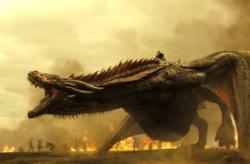 Game of Thrones, Daenerys Targaryen, Season 7, Drogon