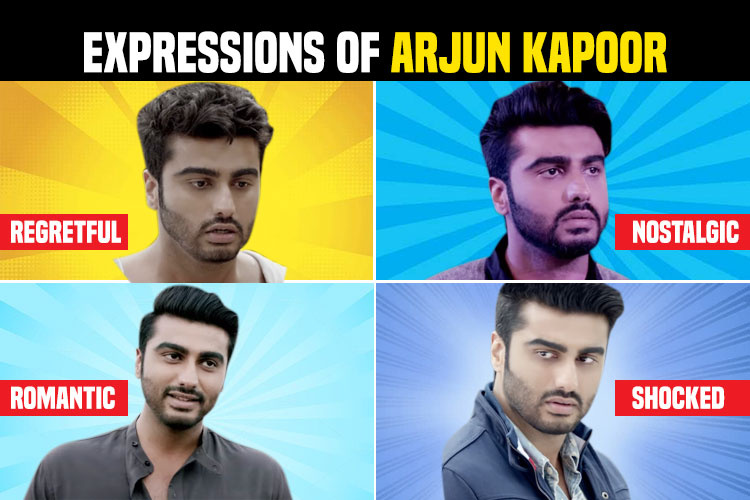 Arjun Kapoor expressions, Half Girlfriend