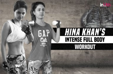 Hina Khan workout regime