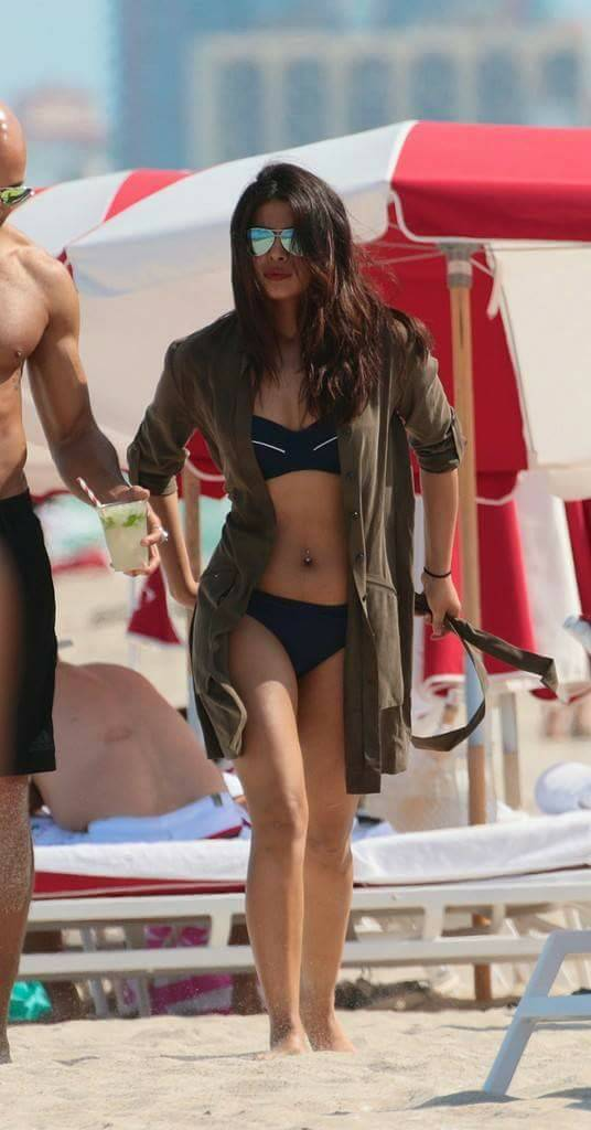 Priyanka Chopra, Miami Beach