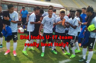 Inida U-17 football team, Italy