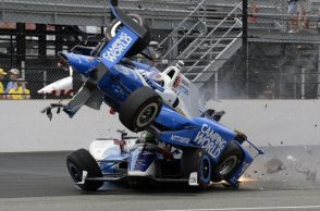 Indy 500 accident, Scott Dixon