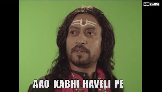 Irrfan Khan meme, AIB