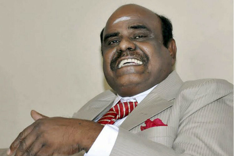 Has Justice Karnan fled the country to evade arrest?