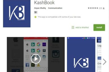 Kashbook, desi Facebook, Kashmir, social media
