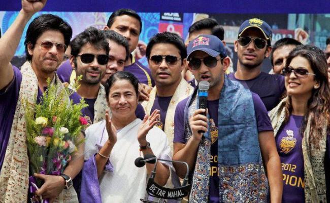 Shah Rukh khan celebrated KKR's win