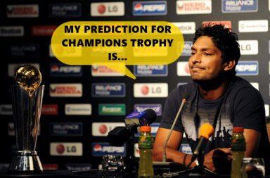 Kumar Sangakkara, ICC Champions Trophy 2017, Sri Lanka