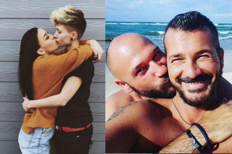 LGBTQ, LGBTQ rights, gay rights, kissing selfies