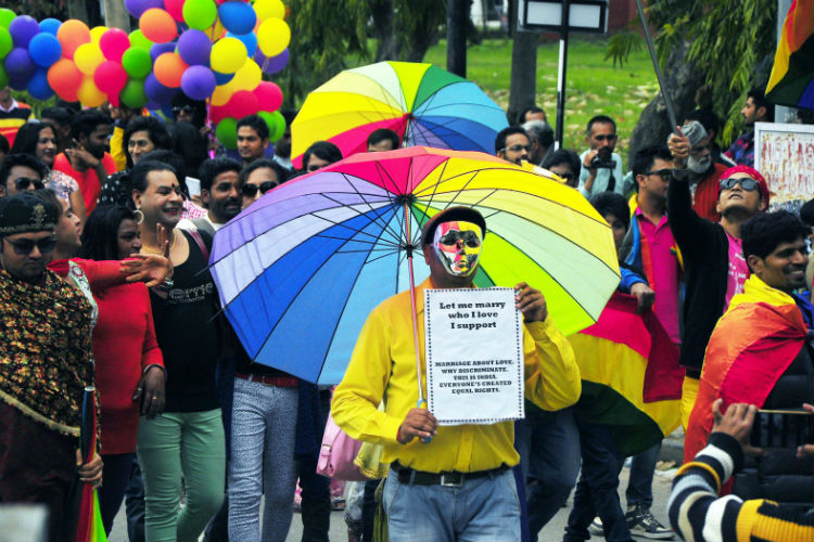 File photo of a Pride walk by LGBT in Chandigarh