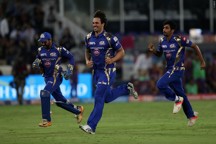 Johnson leads Mumbai to third IPL title