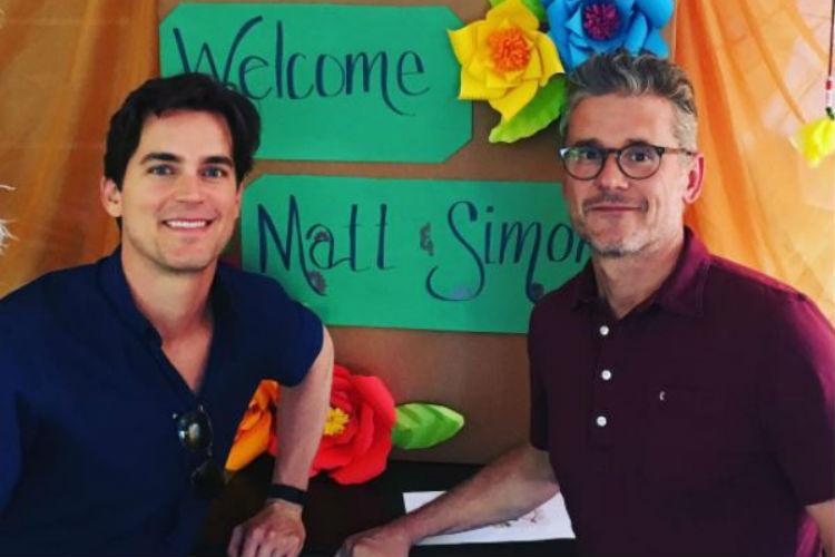 Matt Bomer, Simon Halls