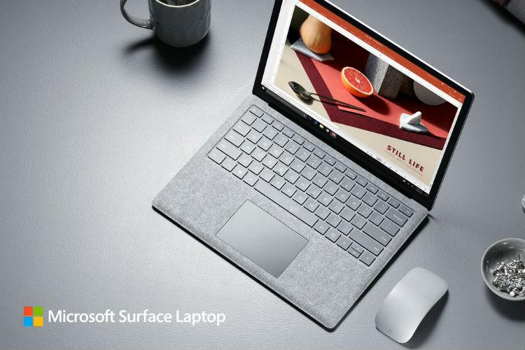 Microsoft surface laptop, microsoft