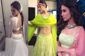 Mouni Roy in Traditional Wear