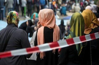 Muslim wearing Hijab