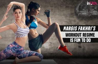 Nargis Fakhri's workout regime