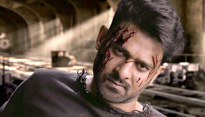 Prabhas in a still from Saaho