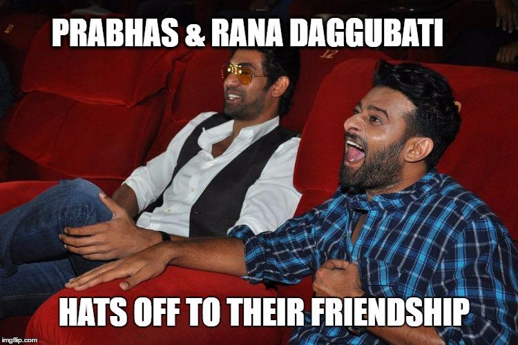 Prabhas, Rana Daggubati, Bahubali 2