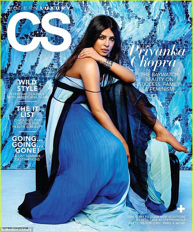Priyanka Chopra, magazine