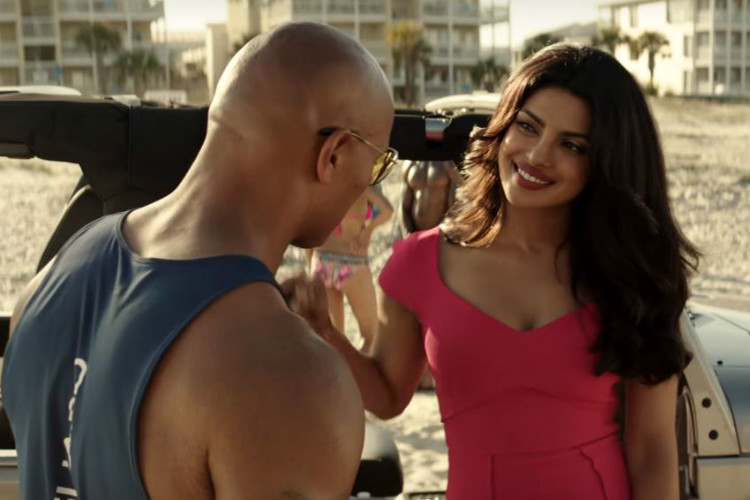 Priyanka Chopra, Baywatch, Dwayne Johnson