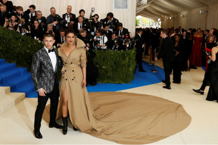 Priyanka Chopra Met Gala Dress Nick Jonas