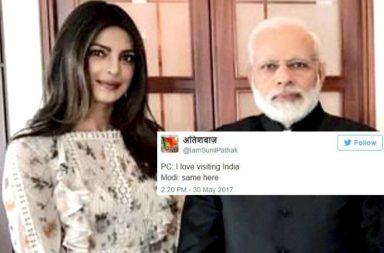 Priyanka Chopra, Narendra Modi, viral, meme