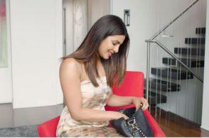Priyanka Chopra Inside Her Handbag