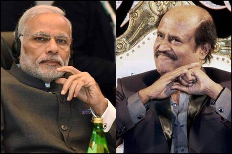 Not aware of any possible Rajini-Modi meeting: Naidu