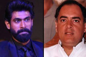 Rana Daggubati in a film based on Rajiv Gandhi