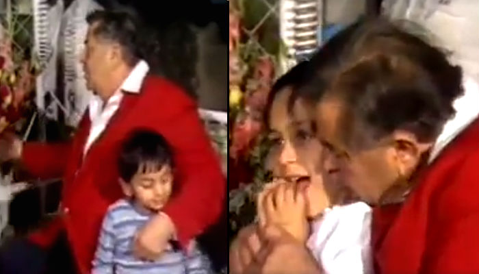 Ranbir Kapoor, Kareena Kapoor's adorable childhood video with Raj Kapoor is goingviral