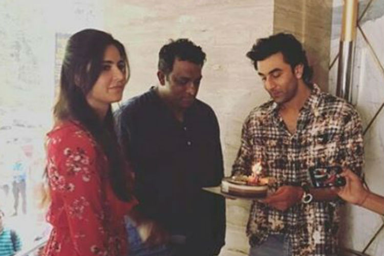 Clicked! Ranbir Kapoor and Katrina Kaif come together for Anurag Basu's birthday
