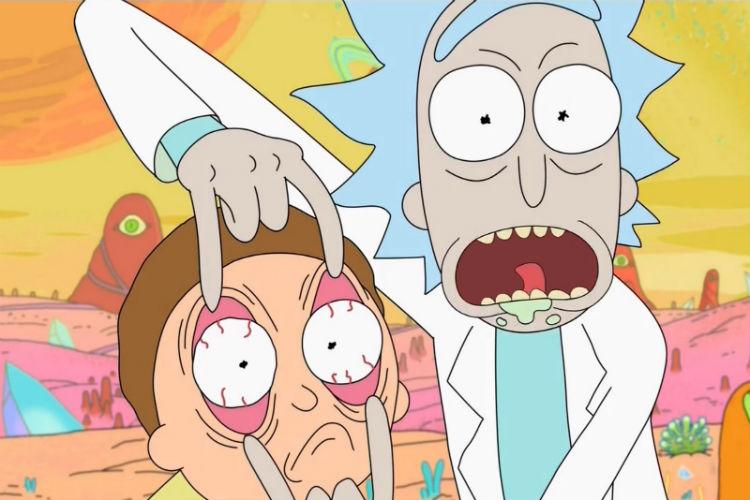 Rick and Morty, Netflix