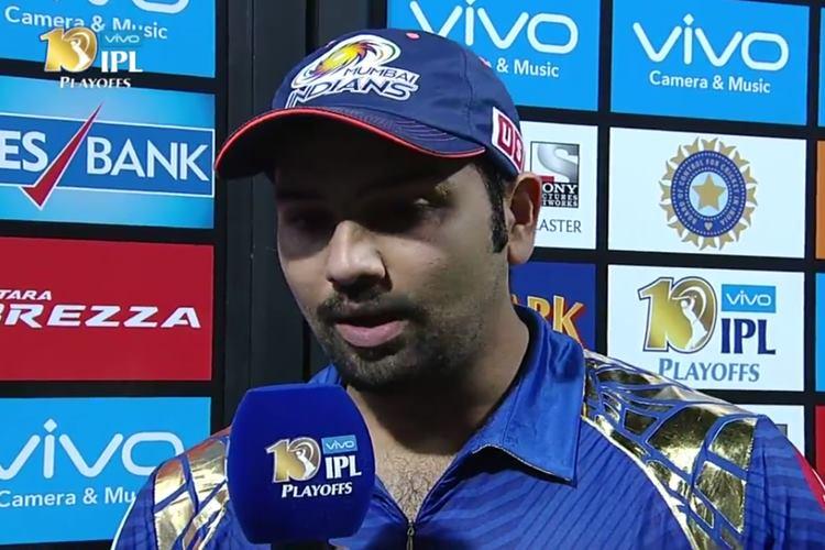 Rohit Sharma's post match interview