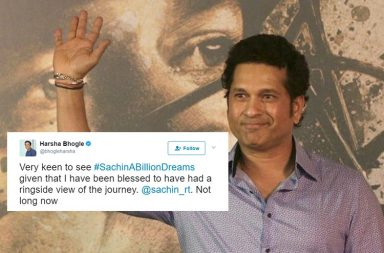 Sachin Tendulkar, Sachin A Billion Dreams, Sachin Tendulkar movie