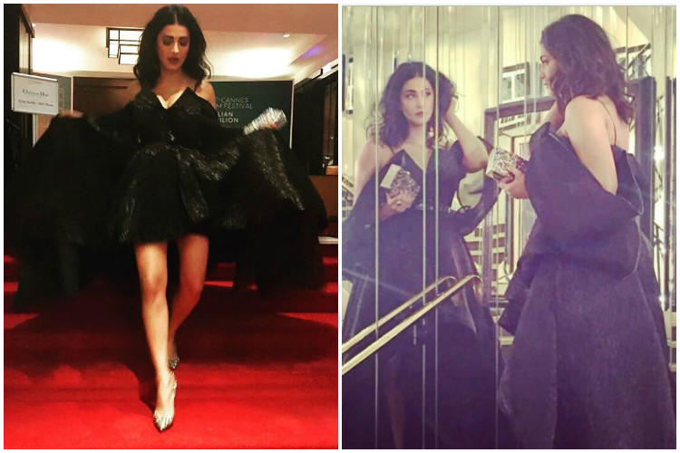 Dear Shruti Haasan, it's Cannes 2017, not Met Gala. What's wrong with your dress?