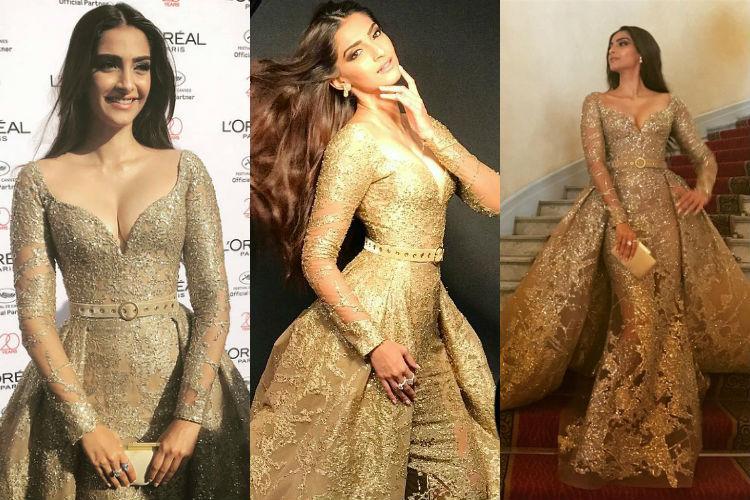 Sonam Kapoor at Cannes 2017