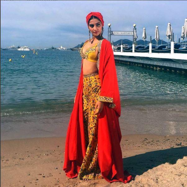 Sonam Kapoor, Cannes 2017