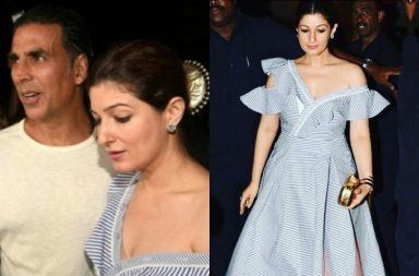 Twinkle Khanna At Karan Johar Party