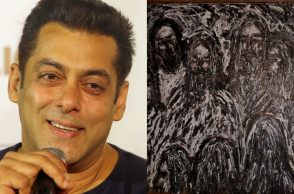Salman Khan painting, Jesus Christ