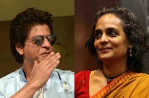 Shah Rukh Khan, Arundhati Roy