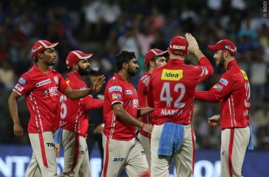 KXIP beats MI by 7 runs in Mumbai